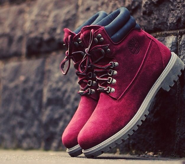 Timberland bordeaux