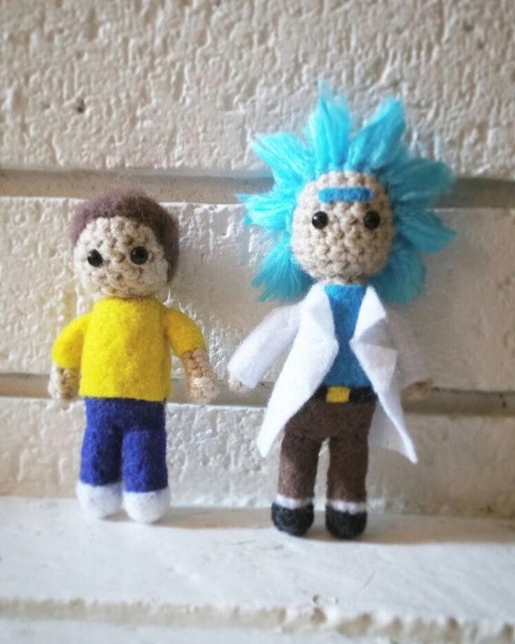 Amigurumi Rick And Morty : 93 best images about Amigurumi ? on Pinterest Free ...