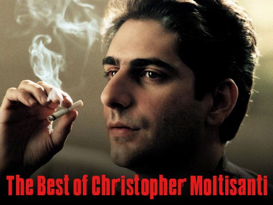 Christopher Moltisanti, played by Michael Imperioli (The Sopranos)