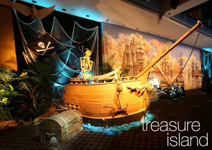 Event Spaces On Treasure Island