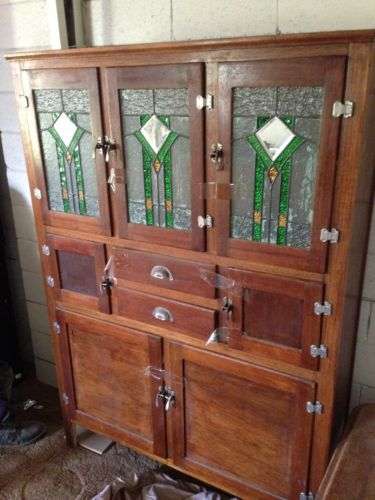 Brims And Sons Antique Buffet Cabinet Duchess 20s Genuine Old Cupboard Furniture