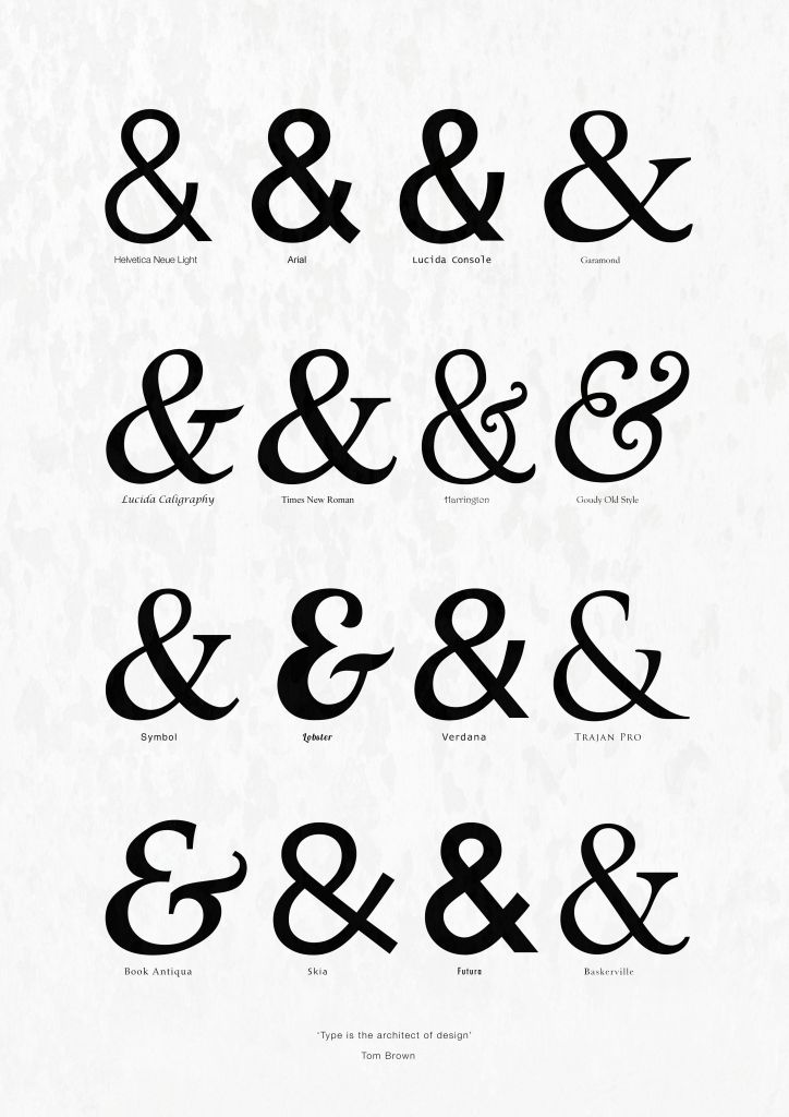 Meaning Of Ampersand Tattoo