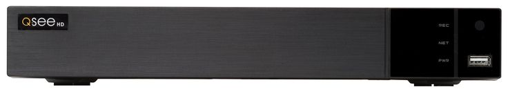 Q-See QTH163-2 16 Channel 1080p HD Analog DVR with 2TB Hard Drive, Standalone Surveillance System (Black)