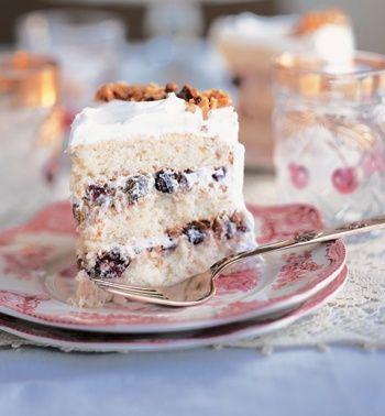 lady baltimore cake brown sugar pound cake cake stands pedestal cake ...