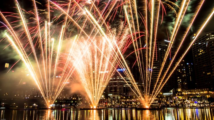 Fireworks at Darling Harbor