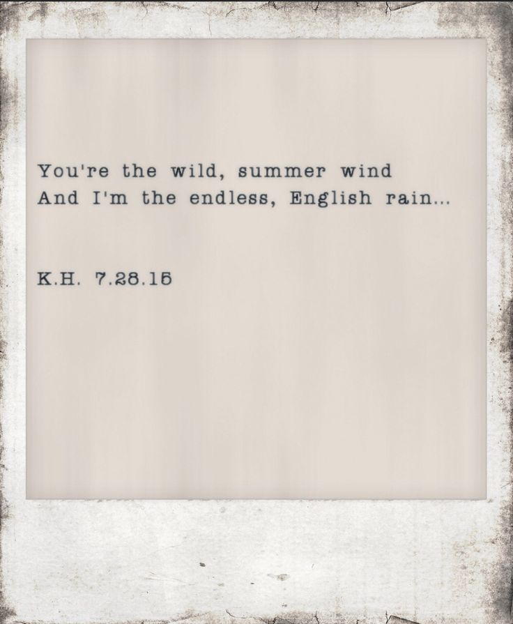 rain quotes in english - photo #27