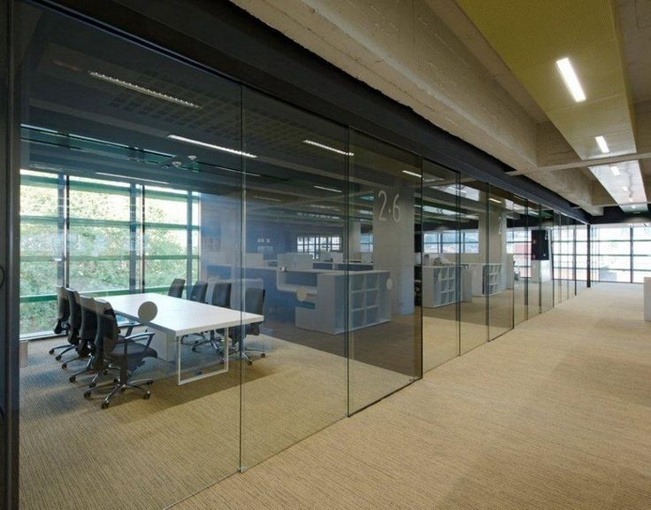 17 best ideas about office partitions on pinterest Office partition walls with doors