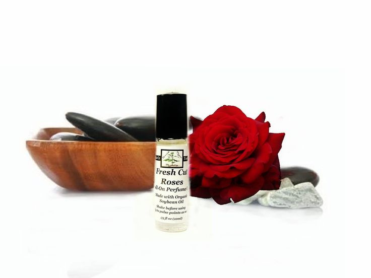 Rose Perfume Oil - Roll On Perfume - Floral Fragrance Oil - Organic Perfume Oil - Gifts For Her - Mothers Day Gift by TaniasTorches on Etsy