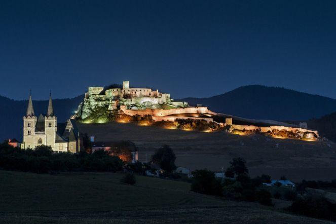 UNESCO Spiš Castle with the Kapitula