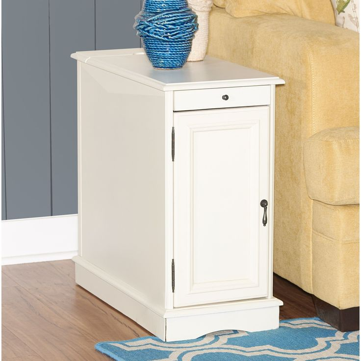 Powell Butler White Accent Table (Butler Hazelnut Accent Table)