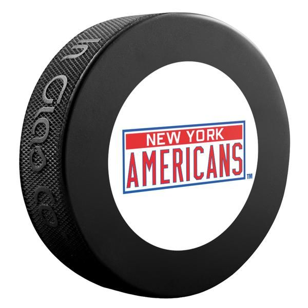 New York Americans NHL Collectible Souvenir Puck 1930-31