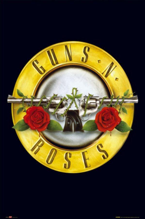 Guns N Roses- Logo Poster - TshirtNow.net