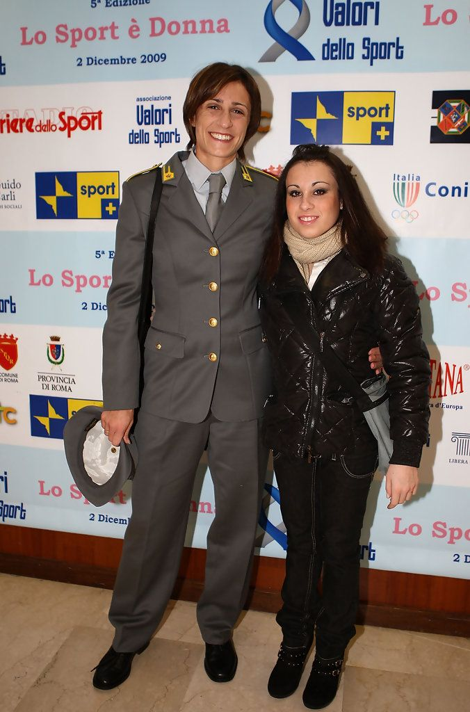 "Vanessa Ferrari Photos: ""Lo Sport E Donna"" - The Values Of Sport Award"