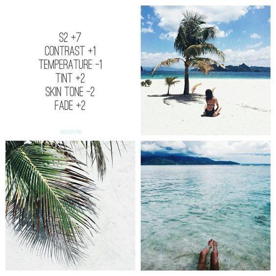 Best Filters on VSCO – Instagram Themes 2018/19 | • vsco