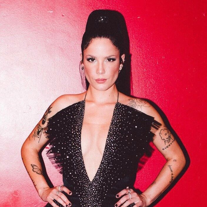 Find and follow posts tagged halsey icons on Tumblr in