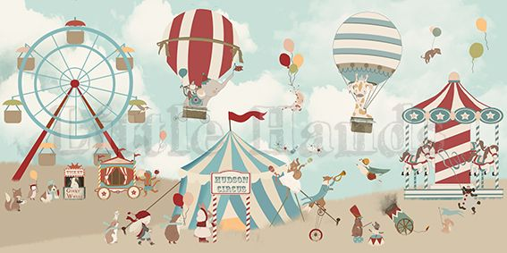 CIRCUS I BY LITTLEHANDS