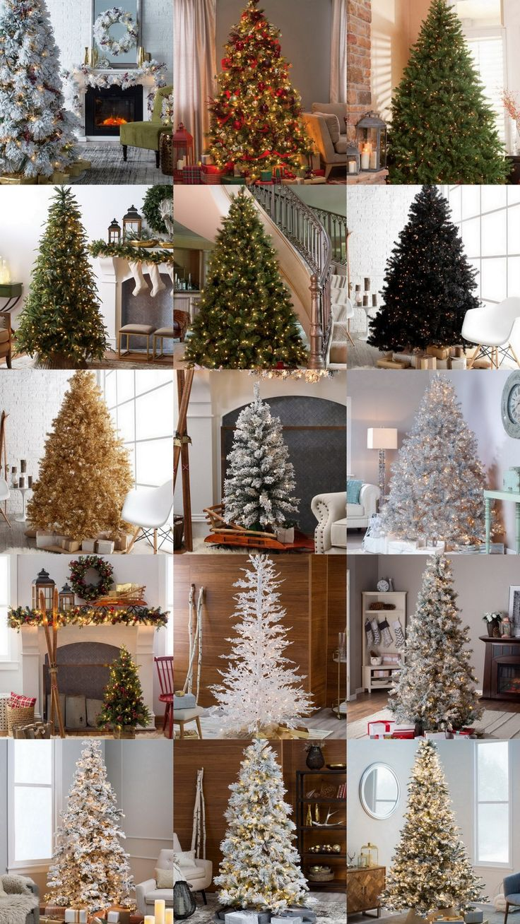 15 Gorgeous Pre Lit Christmas Trees hayneedle 5903