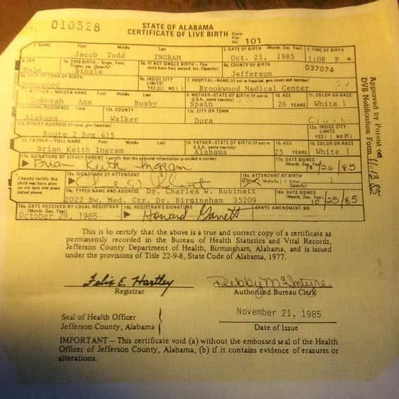 Birth Certificate (JTI) JTIu0027s Contract (The Cube) Pinterest - birth certificate