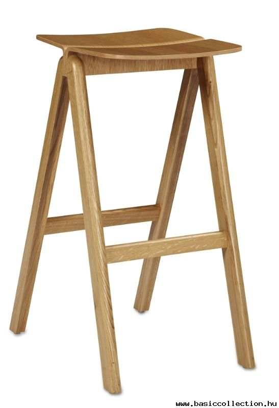 Basic Collection, Copenhague barstool #barstool #design #furniture #wood #stool