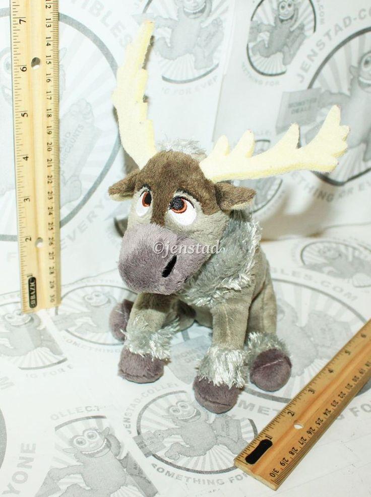 Sven Reindeer Disney Frozen Ty Sparkle Beanie Baby Plush