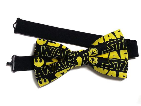 Star Wars Bow Tie, Star Wars Gifts for Him, Nerdy Gift, Star Wars Gift Idea, Bow Tie for Kids, Teens, Men