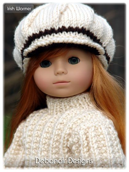 Free Knitting Pattern For Doll Hat : 1000+ ideas about Knit Doll Hat on Pinterest Loom knitting projects, Croche...