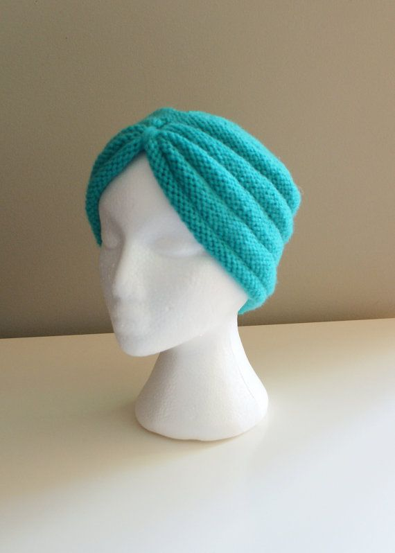 DIY Knitting PATTERN  Turban Headband Hat and door ErinBlacksDesigns, $6.00