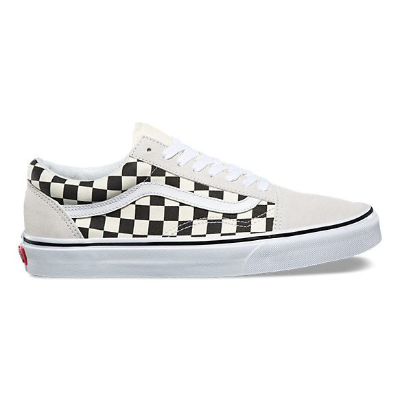 Primary Check Old Skool Shop Classic Shoes At Vans Checkered Shoes Vans Checkerboard Vans