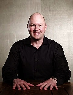 "Marc Andreessen, ""while a student and working with colleagues, wrote the mosaic browser, which was widely distributed and made the Web accessible to anyone, anywhere in the world, and triggered a huge number of applications."""