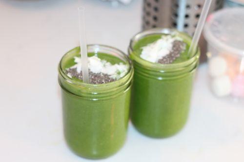 juicy green smoothie