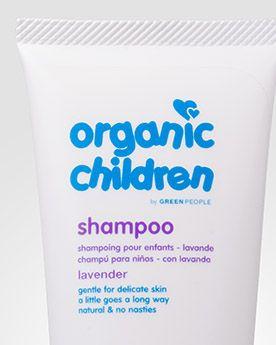Green People Органический детский шампунь с лавандой Organic Lavender Childrens. 200 мл.