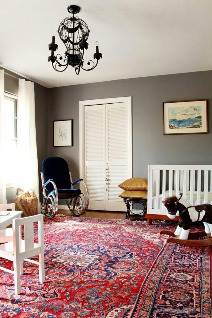 ▷ Perserteppich als einen Mittelpunkt des dekorativen Konzeptes