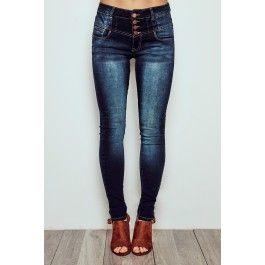 Vienna High Rise Skinny Jean