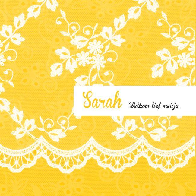 Geboortekaartje, zie http://www.missolive.nl/kaarten/geboorte