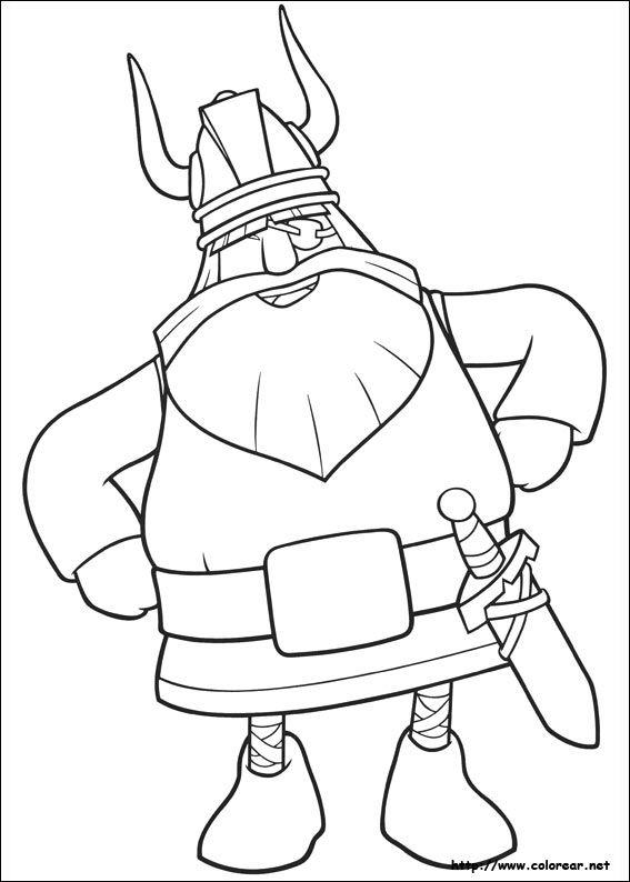 Vikingos Para Colorear Dibujos Para De Vicky El Viki On Dibujo De