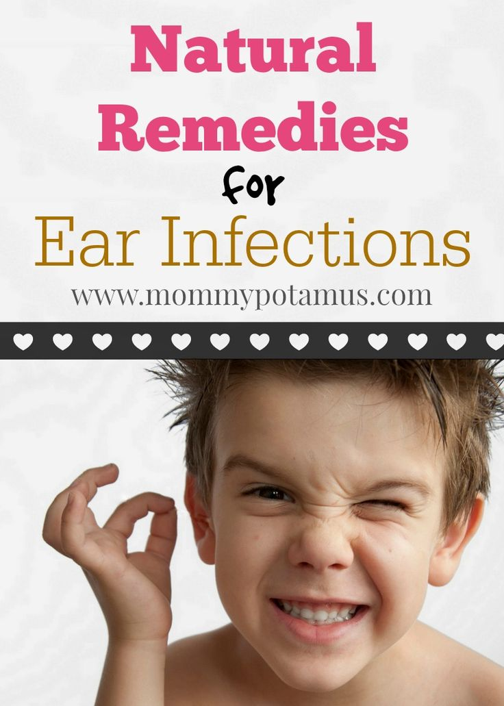 Natural treatment for ear infections