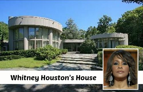 Whitney Houston's House in New Jersey | hookedonhouses.net