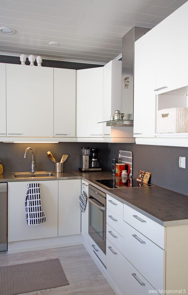 Design-Talo Piippolan kaunis keittiö
