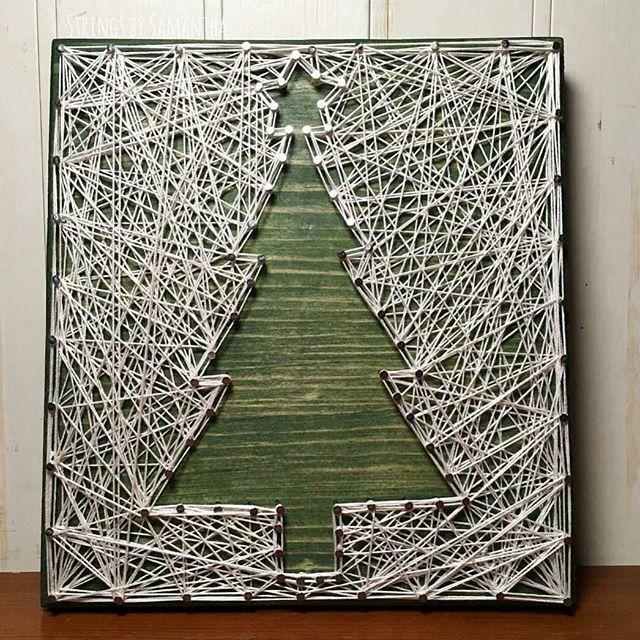 реализуемые картинка нитками на гвоздиках инсталляцией скрытым люком