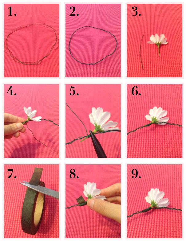 The Blushing Dreamer: DIY: Daisy Floral Crown