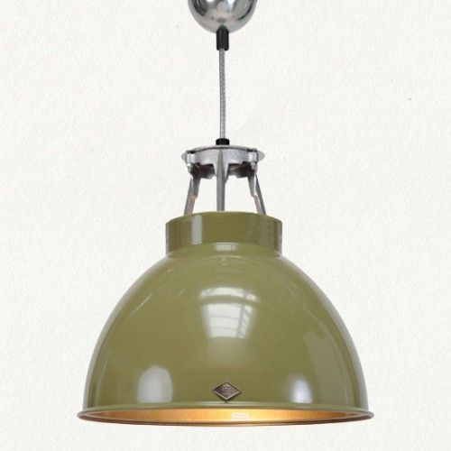 Enamel Pendant Light Over Kitchen Sink For The Home