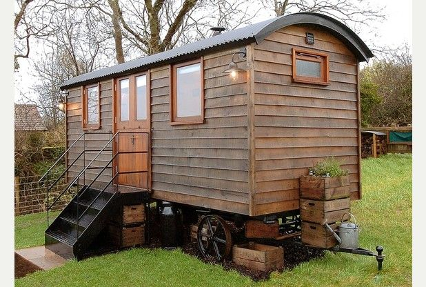 Luxury shepherd's hut | Western Daily Press