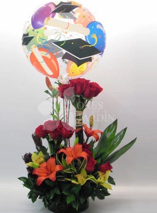 Arreglo Floral Para Graduación Imagui Fiestas Arreglos