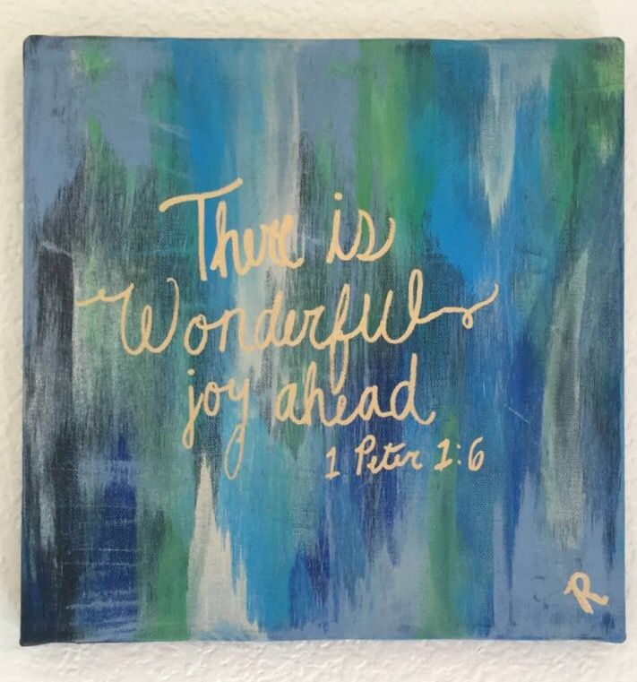 Bible Verse Painting Ideas