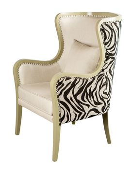 Carla Wing Chair from Touch of Glam: Furniture on Gilt