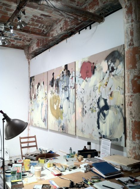 La Maison Boheme: Oversize Artworks in Progress #Home-Decor