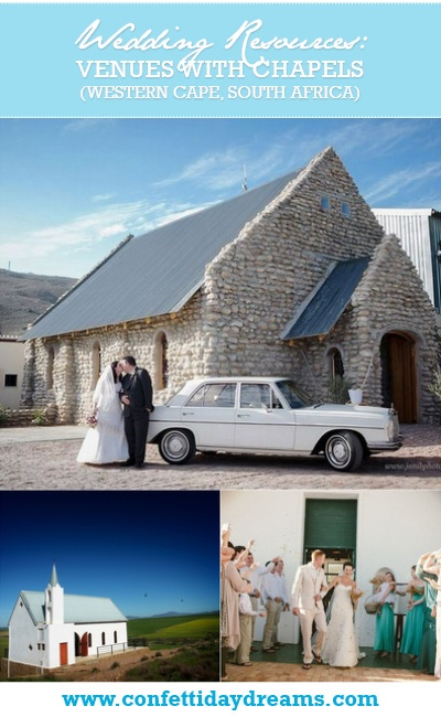 Wedding Venues with Chapels and Reception Area in Cape Town   Confetti Daydreams - The perfect list of Wedding Venues with Chapel & Reception Areas in Cape Town and it's surrounds, South Africa ♥ #CapeTown #WeddingVenues #WeddingChapels