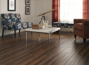 Antique Bamboo Laminate A Handscraped Appearance With The Look Of Bamboo