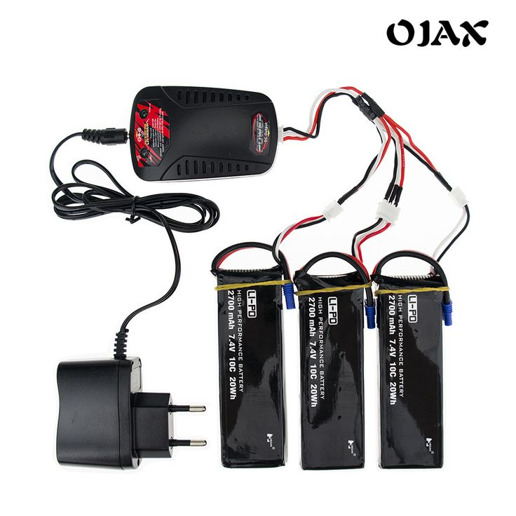 Hubsan H501S Original 7.4V 2700mAh lipo battery 10C battery With Charger Set For Hubsan H501C RC Quadcopter Drone Parts *** Detailed information can be found on AliExpress website by clicking on the image