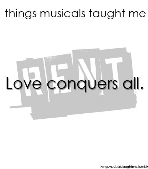 78 best Things Musicals Taught Me images on Pinterest